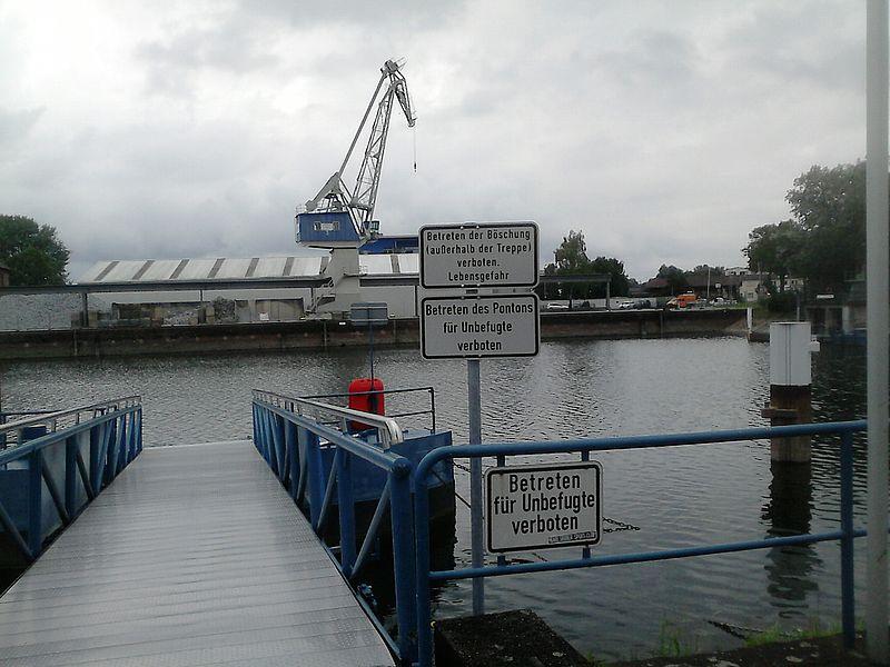 Rheinhafen Karlsruhe Schifffahrt